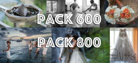 Les packs 600 et 800 de Takazoomer