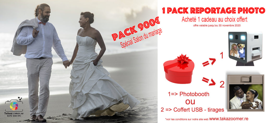 Pack 900 € spécial mariage 2020